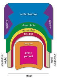 Stern Auditorium Interactive Seating Chart