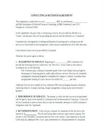 Consulting Agreement Sample In Word New Consulting Agreement Sample In Word Unique Consulting Agreement Long