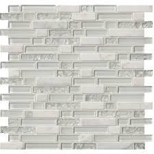 msi delano blanco 12 in x 12 in x 6mm glass stone mesh
