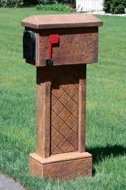 Decorative Mail Boxes Decorative Mailboxes Bayshore Concrete and Landscape Materials 24