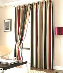 striped curtain red rugby stripe curtains red stripe curtain striped curtains appealing and brown next eyelet striped curtain