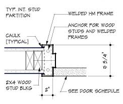 Door Frame Section Drawing ClipartXtras