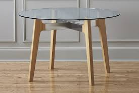 dining table CB2 Brace Dining Table lowres