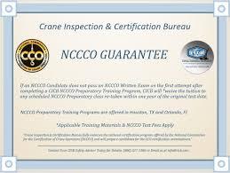 Nccco Fast Track Mobile Crane Operator