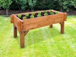 vegi table raised bed on legs vegi table planter growing vegetables