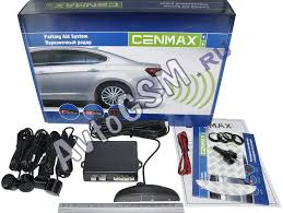 Парковочная система (<b>парктроник</b>) <b>Cenmax PS 4.1</b> (4 черных ...