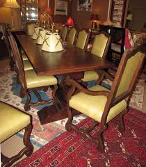 reproduction dining tables. collection reproduction old world bench made dining table with 12 leather chairs tables 3