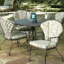 wrought iron patio furniture cushions. Wrought Iron Chair Cushions Patio Furniture Idea Round . E