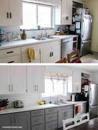 High Quality Kitchen Cabinet Makeover On A Budget