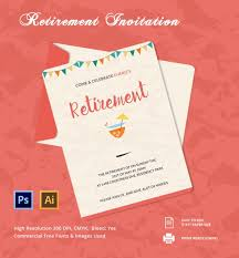 retirement flyer template free 30 party invitation templates free psd vector eps ai format