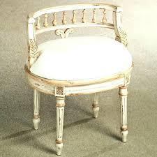 vanity stool with back vanity seat vintage vanity chair white stained wood antique vintage vanity chair vanity stool