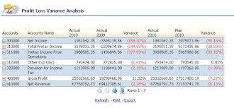 What Is Profit Loss Oracle Enterprise Performance Management Workspace Fusion Edition