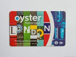 oyster card in london