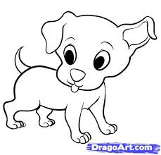 Small Picture Puppy Drawing Draw Dog 13jpg Coloring Pages clarknews