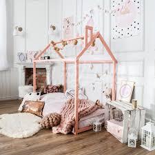 Child Bed Design Wood Wooden House Bed Frame Platform Bed Teepee Bed Wood Bed