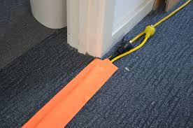office cable protector. Specifications Dimensions: 100mm(width) X 15m(length) Colour: Hi-Vis Orange Designed And Manufactured In Australia Cost Efficient Office/pedestrian Cable Office Protector E