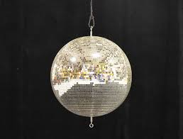 disco ball in natural light