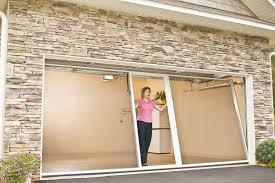 screened in garage doorGarage Door Screens Florida  Banko Overhead Doors