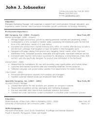 Resume Format Word Document – Eukutak