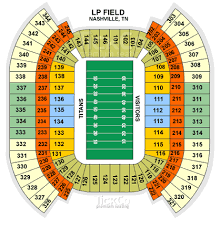 Lp Field Seating Chart One Direction Concert August 19