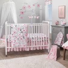 Shop Bedtime Originals Blossom <b>Pink Watercolor</b> Floral <b>3</b>-<b>Piece</b> ...