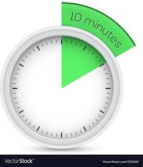 a 10 minute timer 10 minutes timer royalty free vector image vectorstock