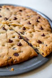 Chocolate Chip Cookie Pizza Sallys Baking Addiction