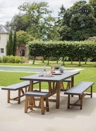 a modern indoor and outdoor dining set the chilson es with a table two