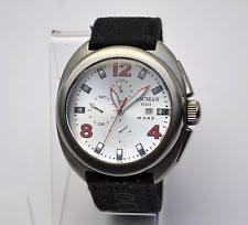 locman watch locman mare 130 men s 47mm titanium chronograph divers watch 995