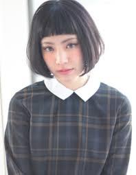 オシャレ黒髪ボブku 298 ヘアカタログ髪型ヘアスタイルafloat