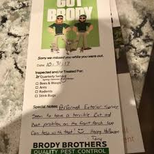 brothers pest control. Contemporary Brothers Photo Of Brody Brothers Pest Control  Owings Mills MD United States Intended N