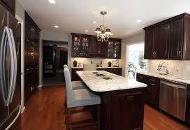 Dark Wood Floors In Kitchen Kitchen Design Contemporary Wood Kitchen Design Ideas Delightful