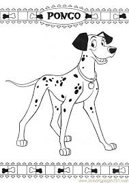Small Picture 101 Dalmatians 43 Coloring Page Free Dog Coloring Pages