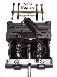magneto ignition for gas engines magnet charger at left is the dismantled witte wico see witte story notice the nubs at the top of the fame this is why you can place the wico upside down on the