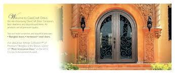 glasscraft door company glass craft door company entry doors in wood fiberglass and steel door company