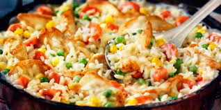chicken and rice dinner recipes. Simple Recipes 20Minute Chicken And Rice Dinner Print Recipe And Dinner Recipes