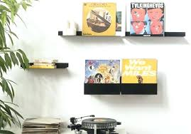 vinyl holder wall record display shelf vinyl record wall shelf astonishing holder ideas co home interior