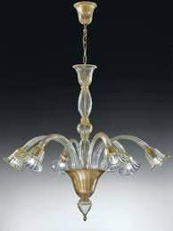 chandelier italian clear glass 6 light chandelier with gold frame italian chandelier manufacturers