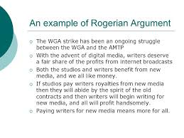have at least one other person edit your essay about rogerian rogerian argument is a negotiating strategy in which opposing views are described as objectively as possible in an effort to establish common ground
