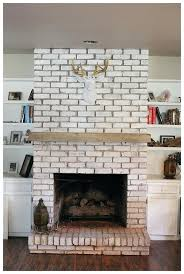 distressed brick fireplace distressed floating fireplace mantle property brothers distressed brick fireplace