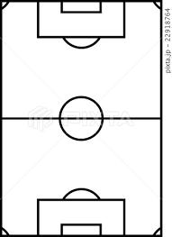 サッカーコートのイラスト素材 22918764 Pixta