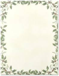 Holiday Stationery Template Reshaper Me
