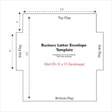 11 Letter Envelope Templates Samples Examples Formats Sample