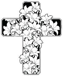 Cross Coloring Pages Coloring Pages Of The Cross Cross Coloring