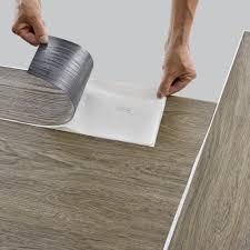 Die robusten pvc platten eignen sich daher für einen langfristigen einsatz unter vielfältigen bedingungen. Ca 4m Vinyl Laminat Selbstklebend Eiche Hell Dielen Planken Vinylboden Ebay