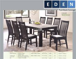 furniture malaysia kitchen dining table set meja makan set 73600