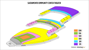 Sacramento Community Center Theater Seating Chart Sacramento Community Center Theater Seating Chart