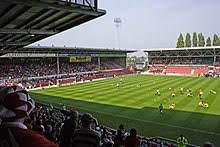 Map and arial view of racecourse ground. Racecourse Ground Wikipedia