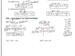 day 8 5 3 solving quadratic equations by factoring notes