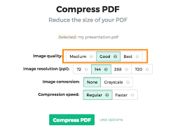 How To Reduce The Size Of A Pdf File Compress Pdf Online